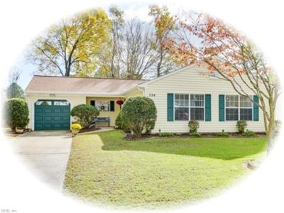 property image for 224 Anne Drive NEWPORT NEWS VA 23601