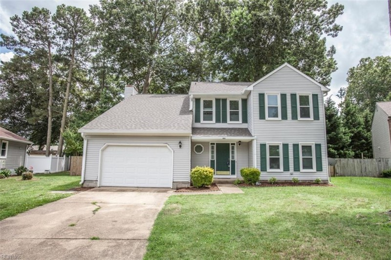Photo 1 of 42 residential for sale in Hampton virginia