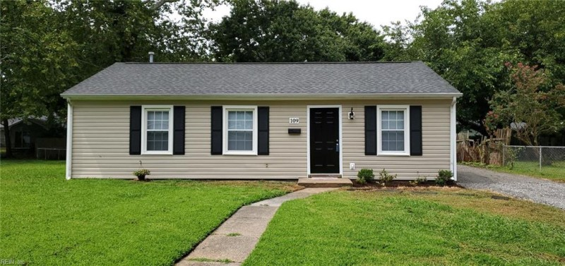 Photo 1 of 24 residential for sale in Hampton virginia