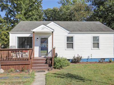 property image for 17 Warner Road HAMPTON VA 23666