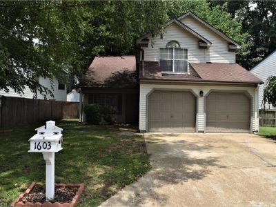 property image for 1603 Winthrope Drive NEWPORT NEWS VA 23602