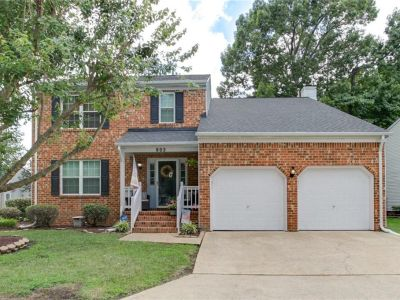 property image for 802 WESTGATE Court NEWPORT NEWS VA 23602